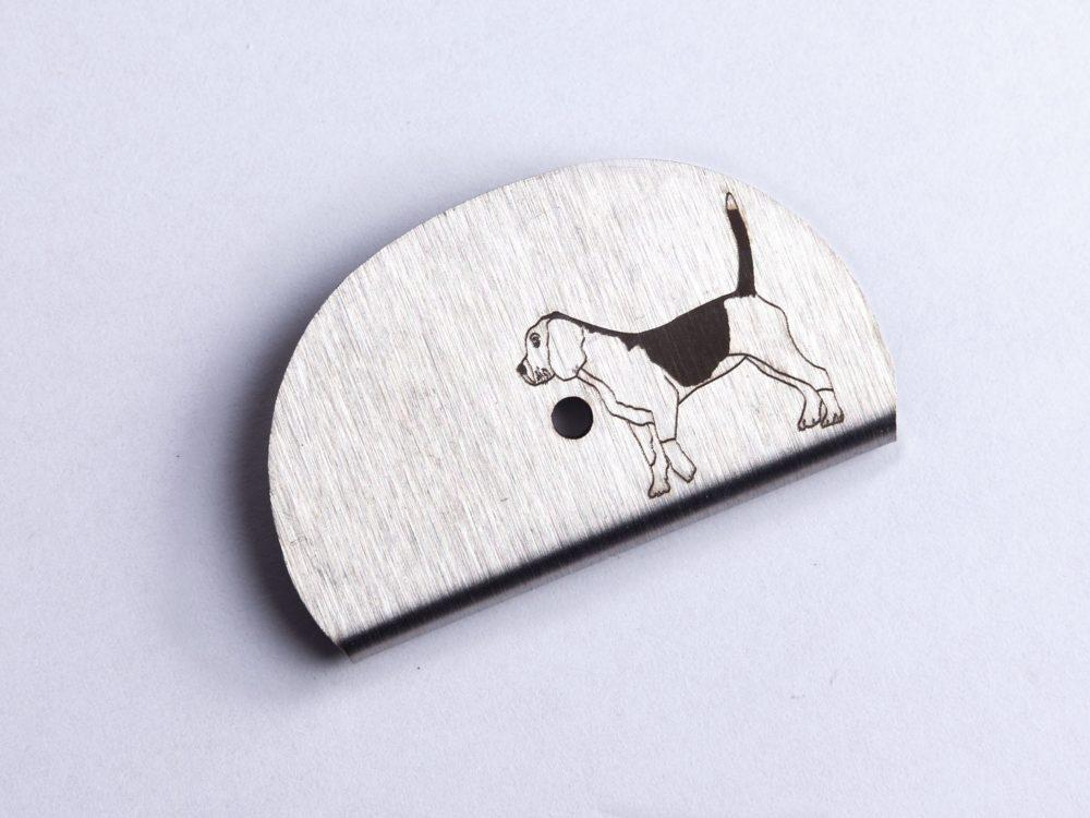 Sifflet gravé beagle
