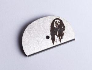 Sifflet gravé Bob Marley