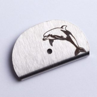 Sifflet gravé dauphin