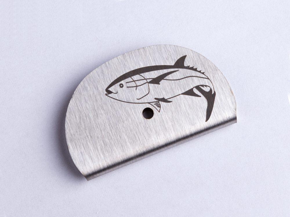 Sifflet gravé thon