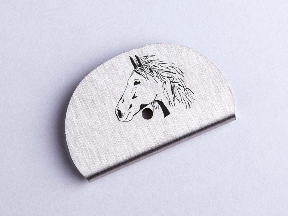 Sifflet gravé cheval