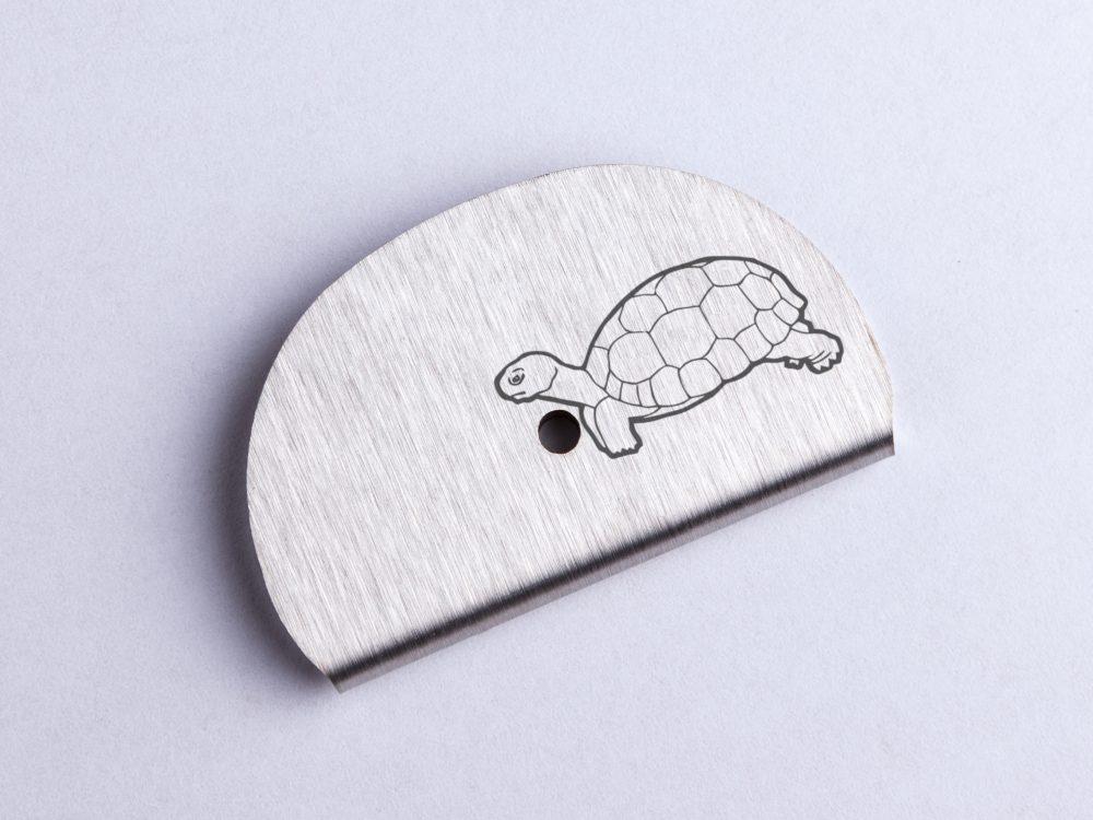 Sifflet gravé tortue