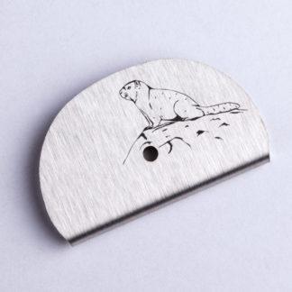 Sifflet gravé marmotte